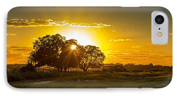 Farmland Sunset IPhone Case by Marvin Spates
