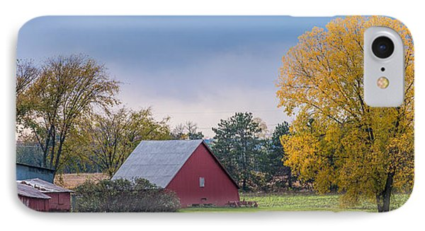 Farmstead With Fall Colors Phone Case by Paul Freidlund