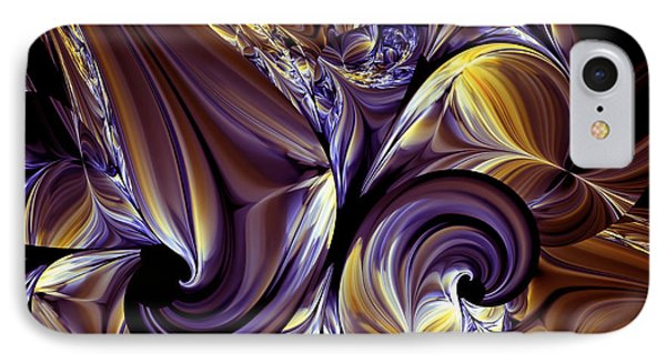 Fashion Statement Abstract IPhone Case by Georgiana Romanovna