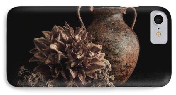 Faux Flower Still Life IPhone Case by Tom Mc Nemar