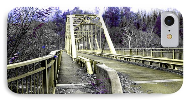 Fayette Station Bridge Phone Case by Amy Sorrell