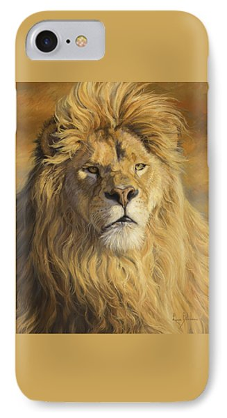 Fearless - Detail IPhone Case by Lucie Bilodeau
