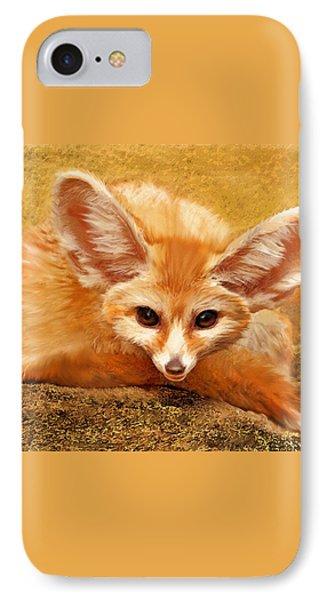 Fennec Fox Phone Case by Jane Schnetlage