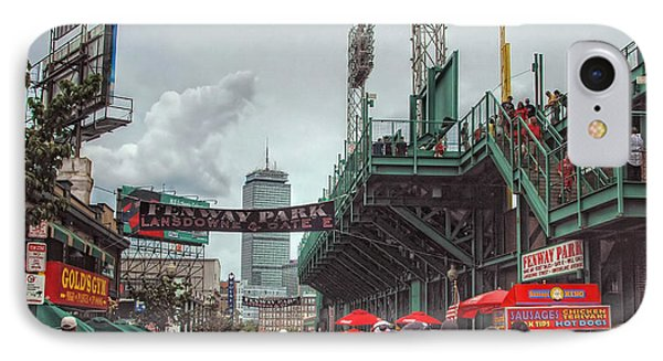 Fenway Bustle IPhone Case by Joann Vitali