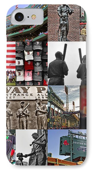 Fenway Memories IPhone Case by Joann Vitali