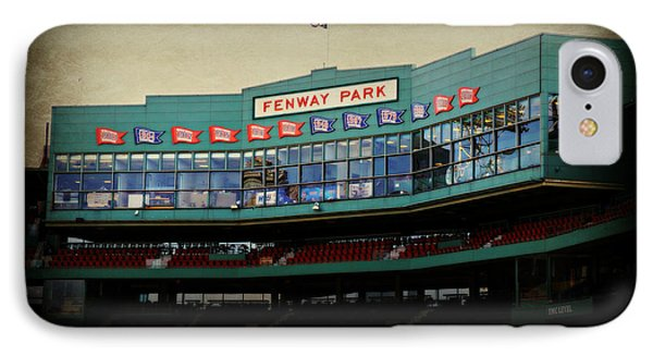 Fenway Memories - Poster 2 IPhone Case by Stephen Stookey