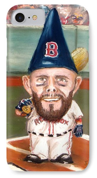 Fenway's Garden Gnome IPhone Case by Jack Skinner