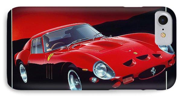 Ferrari 250 Gto IPhone Case by Gavin Macloud