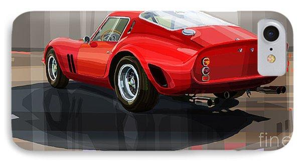 Ferrari 250 Gto IPhone Case by Yuriy Shevchuk