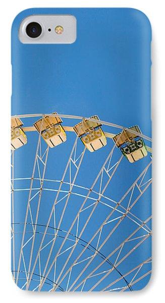 Ferris Wheel 2 Phone Case by Rebecca Cozart
