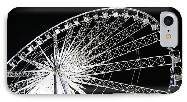 Ferris Wheel IPhone Case by Nawarat Namphon