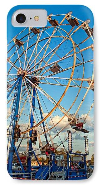 Ferris Wheel Phone Case by Steve Harrington