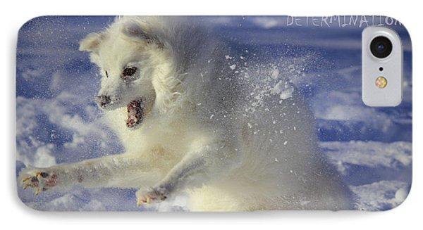 Fierce Determination IPhone Case by Melanie Melograne