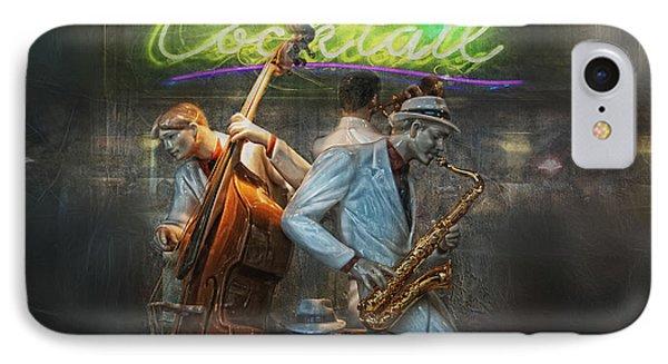 Fifties Cocktail Jazz IPhone Case by Joachim G Pinkawa