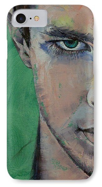 Fighter IPhone Case by Michael Creese