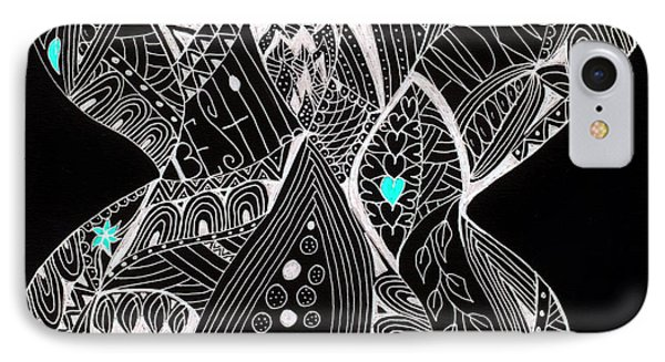 Finding My Soul IPhone Case by Nancy TeWinkel Lauren