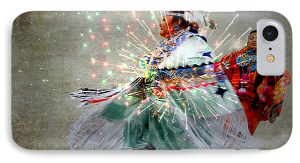 fire Dance Phone Case by Irma BACKELANT GALLERIES