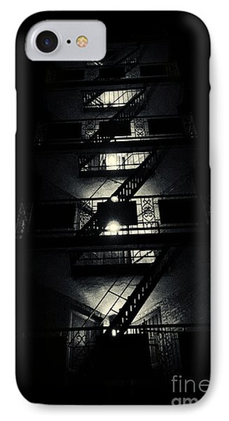 Fire Ladders Park Slope New York City IPhone Case by Sabine Jacobs