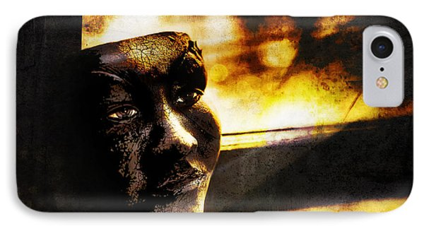 Fire Mask IPhone Case by Scott Norris