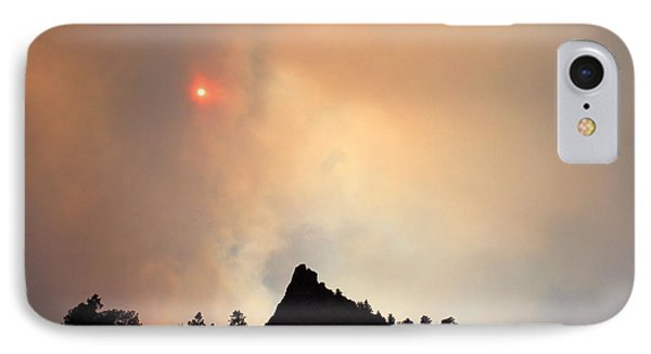 Fire On The Mountain IPhone Case by Emily Clingman