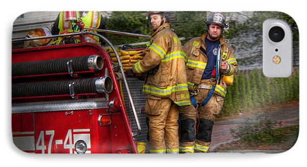 Firefighting - Only You Can Prevent Fires Phone Case by Mike Savad