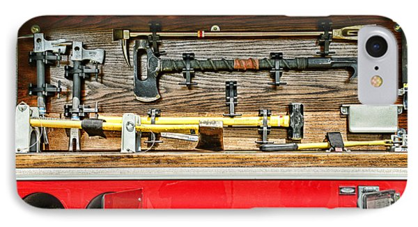 Fireman - Life Saving Tools Phone Case by Paul Ward