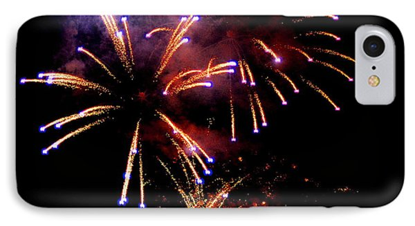 Fireworks Over The Bosphorus No. 1 IPhone Case by Harold Bonacquist