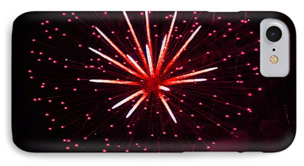 Fireworks Over The Bosphorus No. 3 IPhone Case by Harold Bonacquist