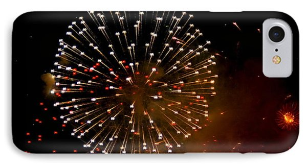 Fireworks Over The Bosphorus No. 4 IPhone Case by Harold Bonacquist