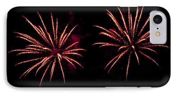 Fireworks Over The Bosphorus No. 6 IPhone Case by Harold Bonacquist