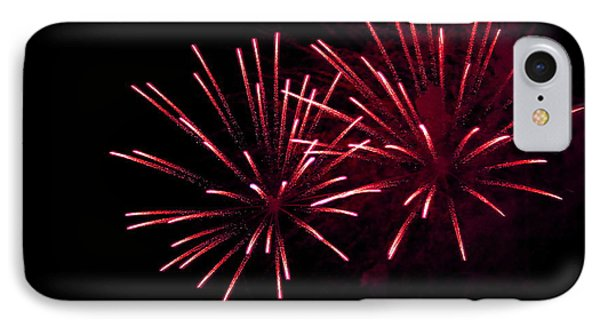 Fireworks Over The Bosphorus No. 7 IPhone Case by Harold Bonacquist