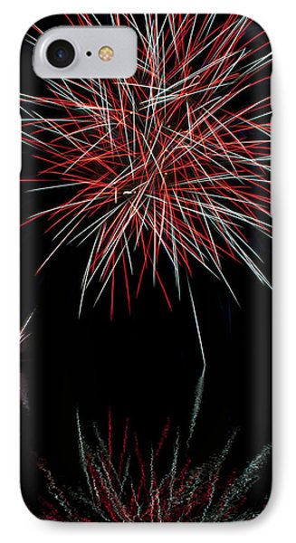 Fireworks Rockets Red Glare Phone Case by Christina Rollo