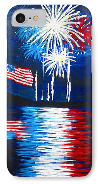Fireworks Phone Case by Tracey Bautista