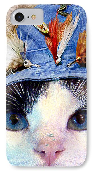 Fisher Cat IPhone Case by Michele Avanti