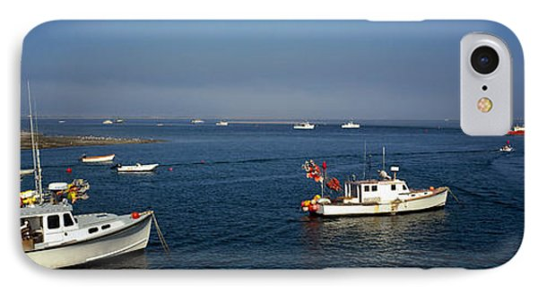 Fishing Boats In An Ocean, Cape Cod IPhone Case by Panoramic Images