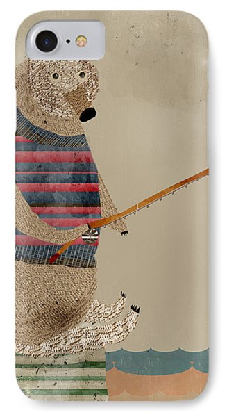 Fishing For Supper IPhone Case by Bri B