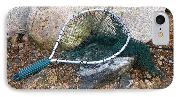 Fishing Net Phone Case by Kerri Mortenson