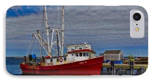 Fishing Troller IPhone Case by Susan Candelario