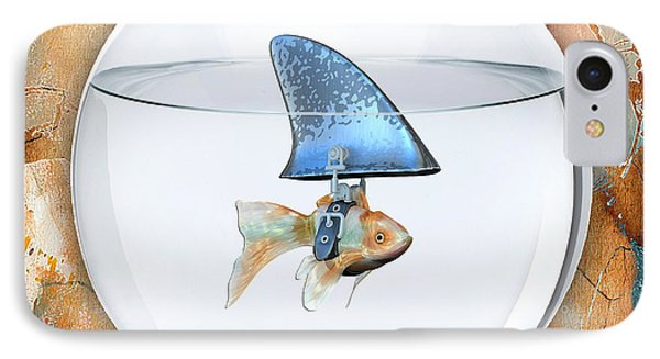 Fishy Story IPhone Case by Marvin Blaine