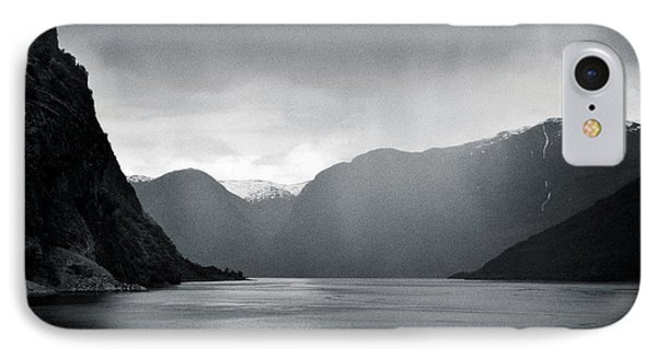 Fjord Rain IPhone Case by Dave Bowman