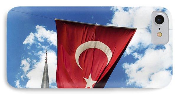Flag Of Turkey IPhone Case by Jelena Jovanovic