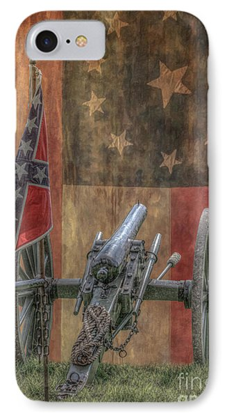 Flags Of The Confederacy IPhone Case by Randy Steele