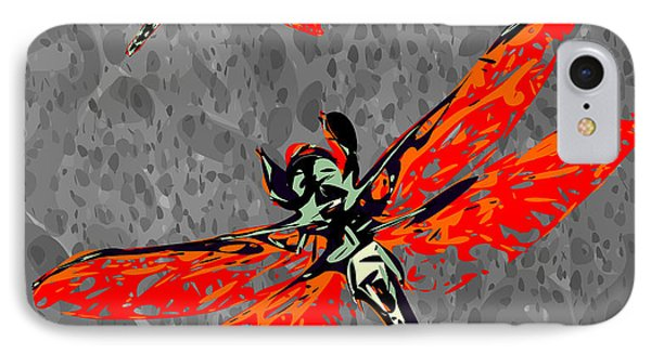 Flame Skimmer IPhone Case by Chris Butler