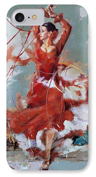 Flamenco 55 IPhone Case by Maryam Mughal