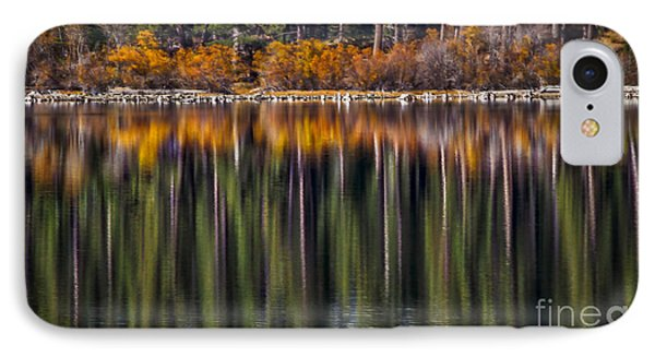 Flames Of Autumn IPhone Case by Mitch Shindelbower