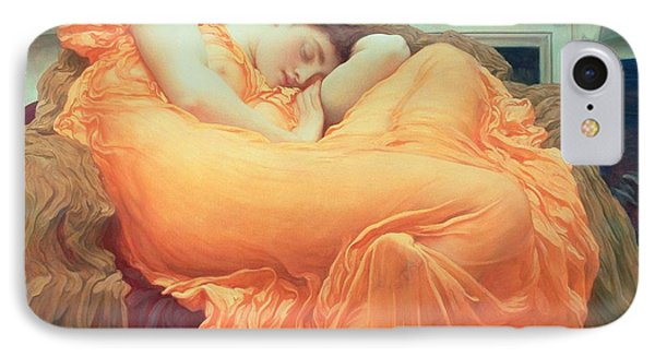 Flaming June IPhone Case by Frederic Leighton