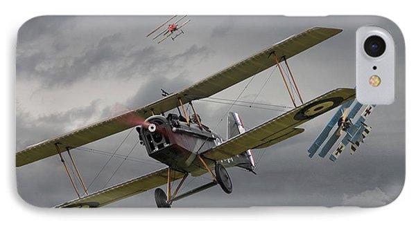 Flander's Skies IPhone Case by Pat Speirs