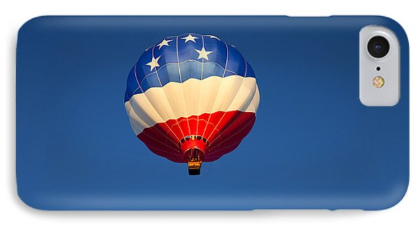 Flight Of The Patriot IPhone Case by Mike  Dawson