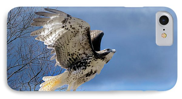 Flight Of The Red Tail IPhone 7 Case by Bill Wakeley
