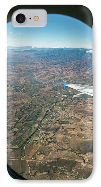 Flight Over Oaxaca IPhone Case by Jim West